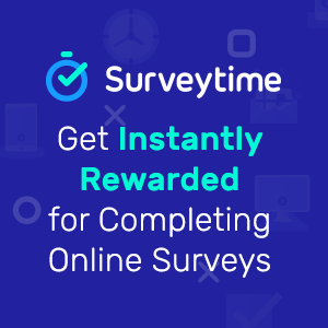 Surveytime - Get paid instantly